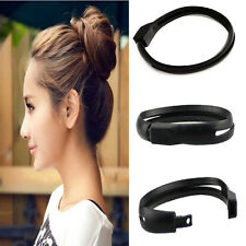 DIY French Women Styling Hair Tool Donut Bun Clip Twist Maker Hair Sticks Holder