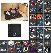 NFL Heavy Duty Vinyl Cargo Floor Mat * ALL TEAMS AVAILABLE * Protective Rubber