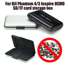 New Aluminum+ABS SD TF Card Holder Storage Case For DJI Phantom 4 3 Inspire OSMO