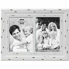 Prinz Two Opening Carson Distressed Wood Picture Frame