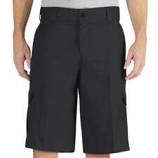 "Dickies WR557 Men's 13"" Cargo Shorts (Black) Multi-Pocket Relaxed Fit Uniform"