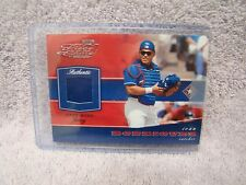 Ivan Rodriguez 2002 Playoff Piece of the Game Game Used Jersey