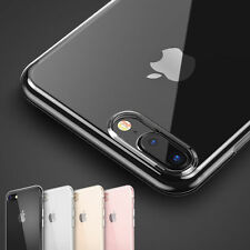 Luxury Ultra thin Slim Crystal Clear Case Silicone Soft Cover For iPhone 7 Plus