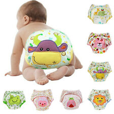 Baby Toddler Training Pants Diaper Animal Nappy Underwear Reusable Shorts Cover