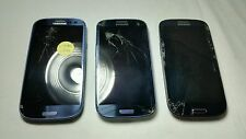 LOT OF 3 Samsung Galaxy S III SPH-L710 - 16GB - Pebble Blue (Sprint) Smartphones