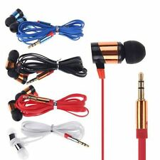 For Samsung CellPhone MP3 MP4 IPod PC Stereo 3.5mm Headphone Earphone In-Ear