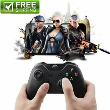Black 2.4GHz Wireless Game Controller Joypad + receiver for Xbox One PC DQ