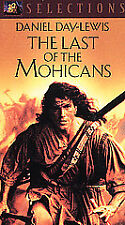The Last of the Mohicans VHS TAPE, Daniel Day-Lewis, Madeleine Stowe NEW, Sealed