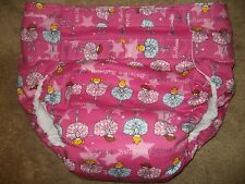 Dependeco All In One flannel adult baby diaper S/M/L/XL  (ballerina)