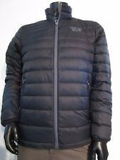 NWT Mens Large Mountain Hardwear Nitrous 800-Down Full Zip Puffer Jacket Black