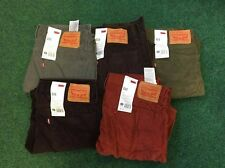 LEVI STRAUSS & CO 511 SKINNY FIT MENS CORDS, SIZE OPTIONS