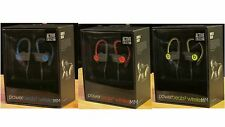 BEATS POWERBEATS2 WIRELESS ACTIVE COLLECTION HEADPHONES DR DRE RED YELLOW BLUE