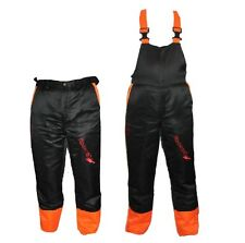 Chainsaw Safety Forestry Trousers Or Bib & Brace Ideal For B&Q Users