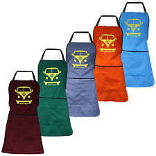 New Volkswagen VW Retro Vintage Camper Van Apron Unisex Novelty Kitchen BBQ Gift