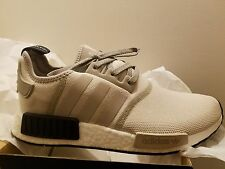 Adidas NMD R1 Runner Tan White Cream Black Khaki Mens Shoes S76848 All size