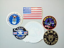 Embroidered Patches and Vinyl Stickers - Miscellaneous US Airforce and USMC