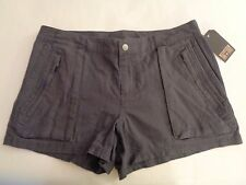 NWT Converse One Star Linen Short Shorts Gray or Black