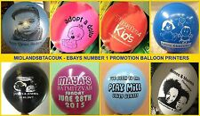 75 Personalised Printed Balloons for New Baby, Barmitzvah, Christening, Boy Girl