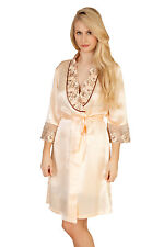 Sheer Shine Silk Dressing Gown NEW & PACKAGED