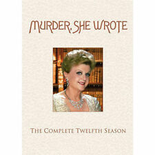 Murder, She Wrote: The Complete Twelfth Season (NEW DVD, 2010, 5-Disc Set)