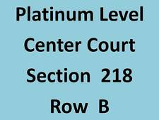 2 - Dallas Mavericks vs Los Angeles Clippers - Center Court - Platinum Sec 218