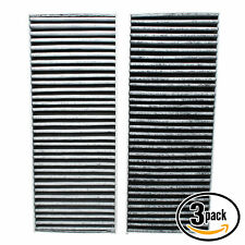 3x Cabin Air Filter for 2005-2016 Nissan Frontier, 2012-2016 Nissan NV1500