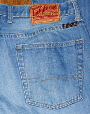 Lucky Brand 165 Regular Fit Mid rise Straight Leg Men's Blue Jeans Sz 34x30