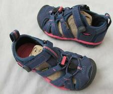 KEEN girls Seacamp II CNX ensign blue camellia rose pink shoes sandals NEW