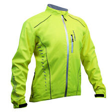 Impsport Drycore Waterproof & Windproof Cycling Jacket - Hi Vis Yellow