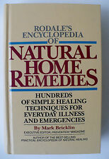 Natural Home Remedies, HC, Rodale Press, 1982