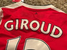 Player Version Authentic Arsenal FC Ozil Giroud Any Player 16/17 Home Jersey