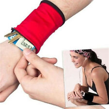 Goody Outdoor Wrist Band Safe Wallet Storage Zipper Ankle Wrap Sport Strap