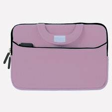 Light Pink w/ Front Package Briefcase Handle Case for Windows & Android Tablet