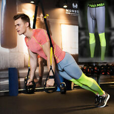 Mens GYM Sport Fitness Compression Thermal Under Base Layer Pants TIGHTS SKINS