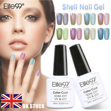 Elite99 Shell Gel Polish UV LED Summer Manicure Pedicure Salon Soak Off Top Base