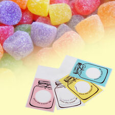 100X Bottle Pattern Candy Biscuit Cookies Gift Packaging Valve Bag Party Supply