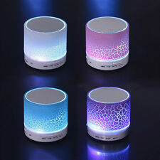 Mini Wireless Stereo Bluetooth USB Speaker Bass For iPhone Tablet PC Portable