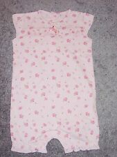GIRLS PINK PLAYSUIT ALL IN ONE ROMPER  FROM NEXT AGE 3 MONTHS AND 3-6 MONTHS