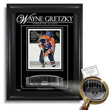 WAYNE GRETZKY Edmonton Oilers Rexall Place - Archival Etched Glass™