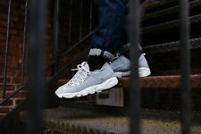 Nike Mens Air Footscape NM Grey White Casual Shoes Sneakers NSW 852629-003