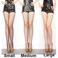 Womens Sexy Black Tights Footed Fishnet Body Silk stockings Fish net  pantyhose