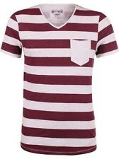 Tom Tailor Denim men's T-Shirt Striped Melange