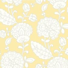 """York Wallcoverings Carey Lind Vibe 27' x 27"""" Chunky Floral Wallpaper Roll"""