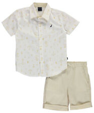 "Nautica Little Boys' Toddler ""Upper Deck"" 2-Piece Outfit (Sizes 2T - 4T)"