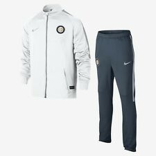 Nike Inter Milan 2016 - 2017 Dry Warm Up Kids Full Tracksuit White Navy
