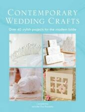 Contemporary Wedding Crafts Paperback Book The Cheap Fast Free Post