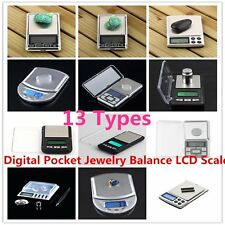 500g x 0.01g Digital Pocket Jewelry Balance LCD Scale / Calibration Weight  TY