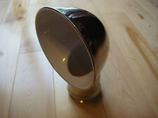 """2- SAILBOAT DORADE COWL VENTS ABI STAINLESS STEEL 4"""" x 12"""" With Deck Plate NEW"""