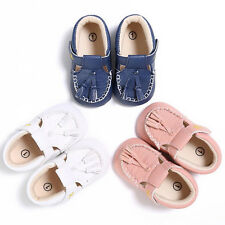 Fashion Baby Infant Kids Girl Boys Soft Sole Crib Toddler Tassels Shoes Sneakers