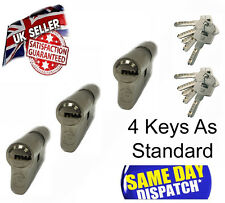 HIGH SECURITY EURO CYLINDER  FOR UPVC DOOR ANTI DRILL/SNAP LOCK